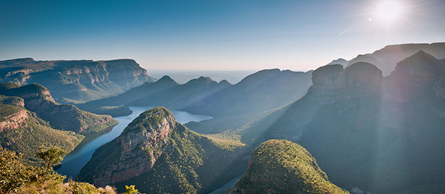 The Three Rondavels' View, South Africa