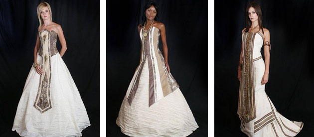 African Wedding Gowns: SHIFTING SANDS AFRICAN COUTURE