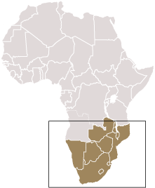 Map for South Africa Information Directory
