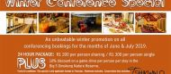 Tshikwalo Game Lodge Winter Conference Special
