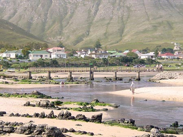 Kleinmond, in the Western Cape, South Africa