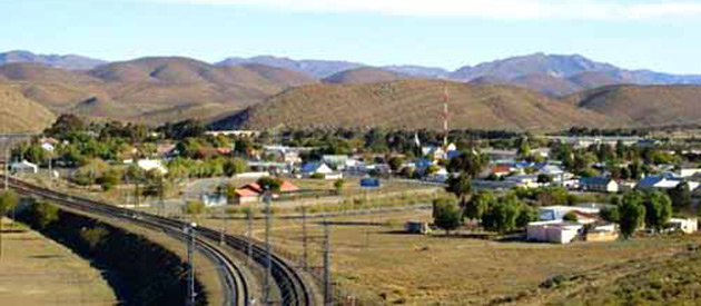 Laingsburg, in the Western Cape Province of South Africa