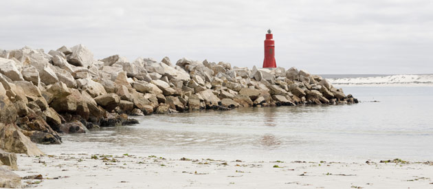 Lamberts Bay, on the West Coast region of the Western Cape, South Africa