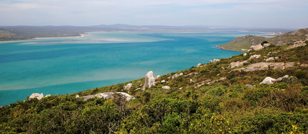 Langebaan, in the West Coast region of the Western Cape, South Africa
