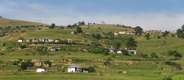 Durban- Outer West-Valley of a 1000 Hills, in KwaZulu-Natal, South Africa