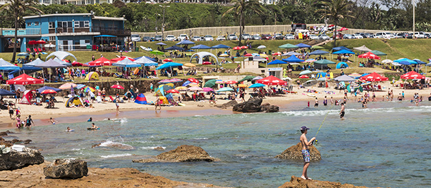 Scottburgh, in KwaZulu-Natal, South Africa.