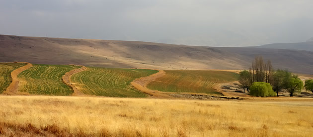 Deneysville, in the Northern Free State region of the Free State Province, South Africa