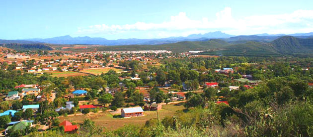 Hankey,a small town in the Eastern Cape province of South Africa