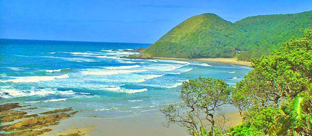 Port St Johns, in the Eastern Cape, South Africa