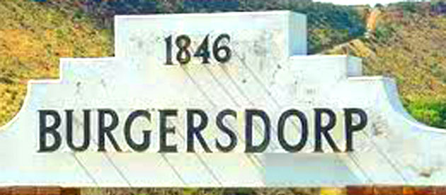 Burgersdorp, in the Eastern Cape, South Africa