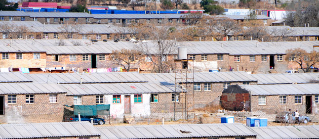 Soweto, situated in the southern half of Gauteng in South Africa.