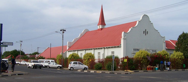 Lichtenburg, in the North West Province in South Africa