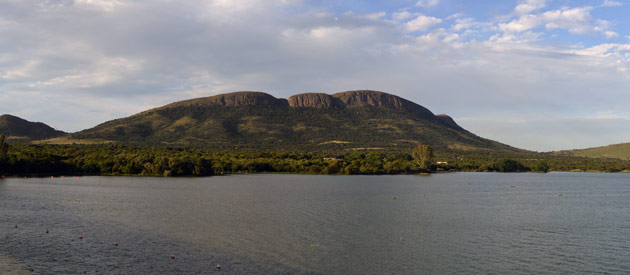 Hartbeespoort Dam, including Skeerpoort and Maanhaarrand, in the Bojanala region of the North West Province, South Africa